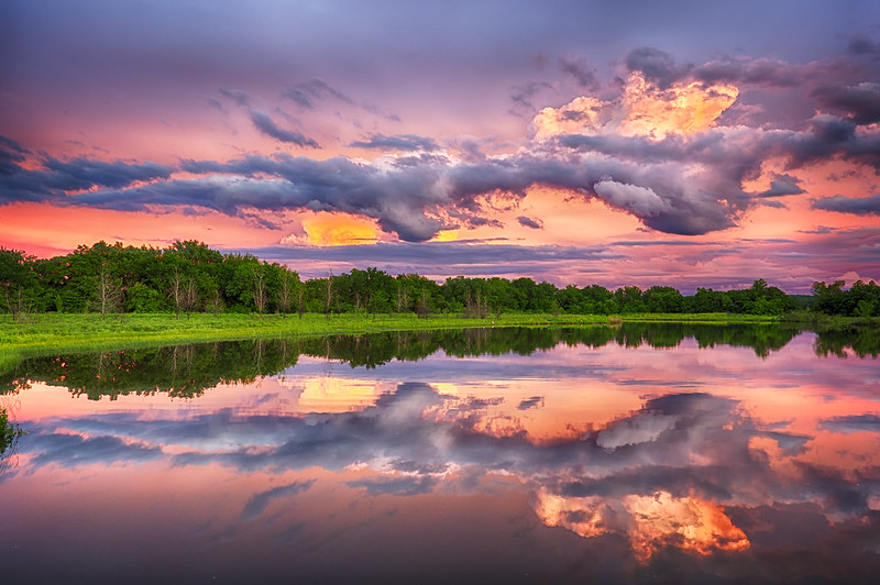 The Baker Wetlands Was Named The Most Beautiful Place In Kansas And We Have To Agree