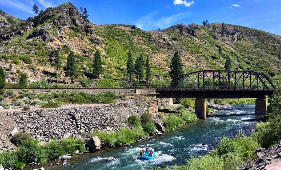The Half-Day Whitewater Rafting Trip On The Truckee River Near Nevada Is A Thrill From Start To Finish