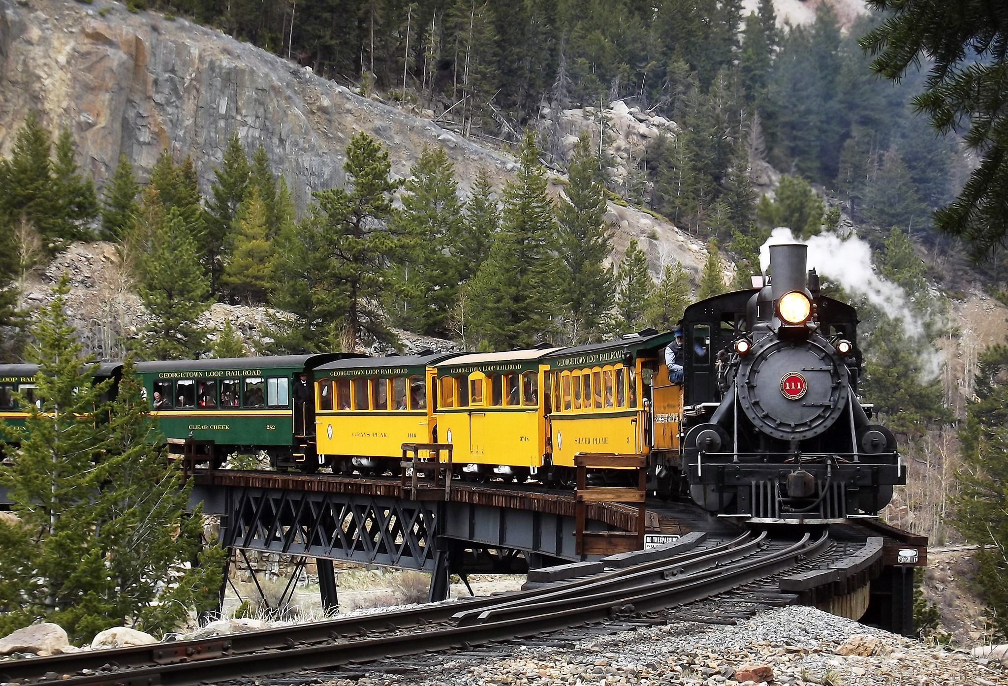 Go For A Socially Distant Ride Through Colorado's Rocky Mountains With The Georgetown Loop