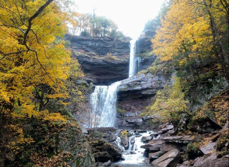 See The Tallest Waterfall In New York At Kaaterskill Wild Forest