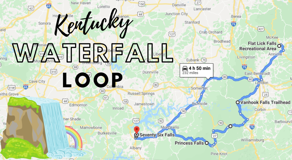 Kentucky's Scenic Waterfall Loop Will Take You To 6 Different Waterfalls