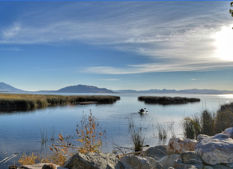 Take A Relaxing Stroll Through Utah Lake State Park And Discover A Dazzling View To Remember In Utah