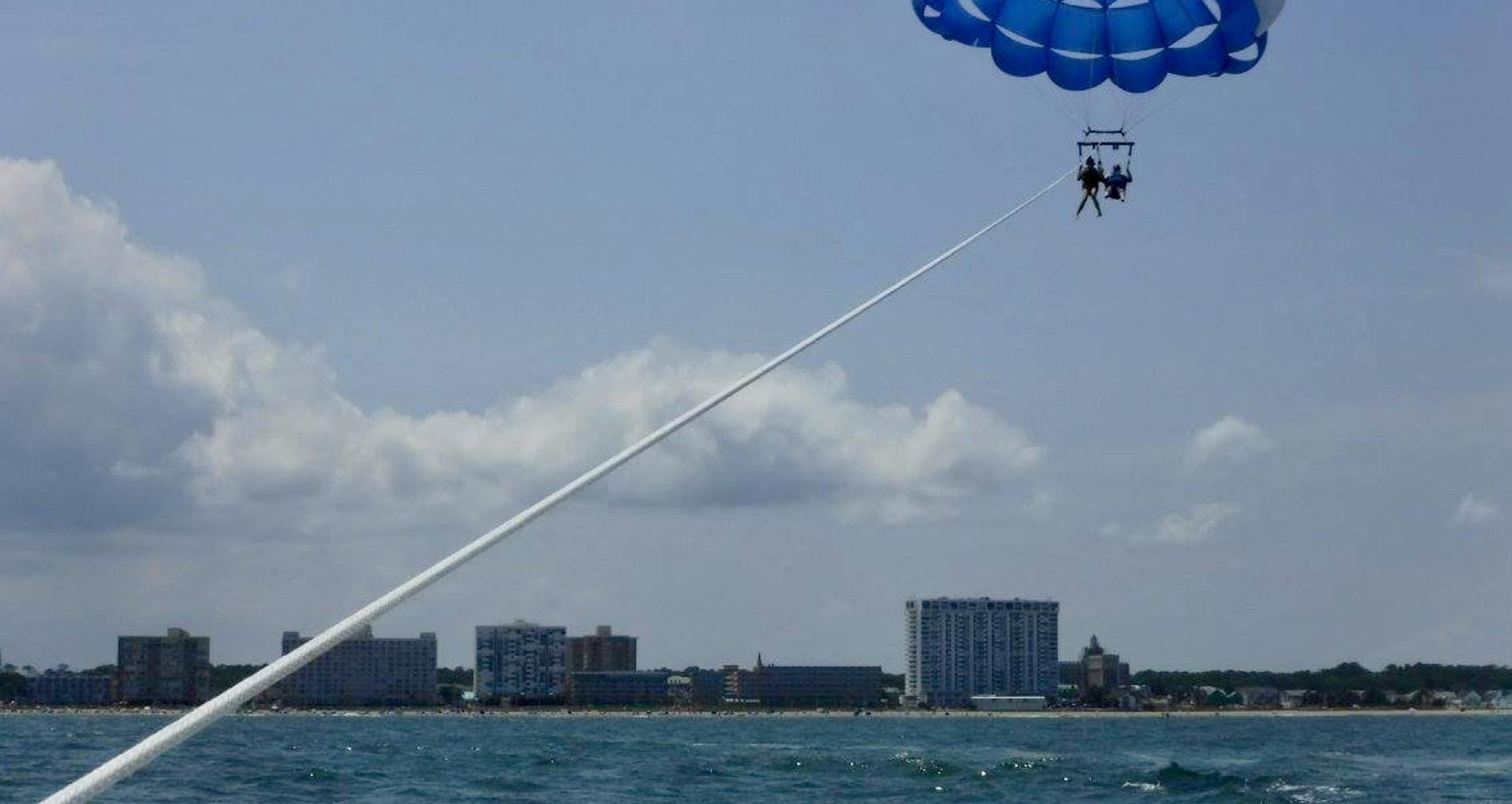 You Can Soar Above The Atlantic Ocean On A Parasailing Adventure In Virginia Beach