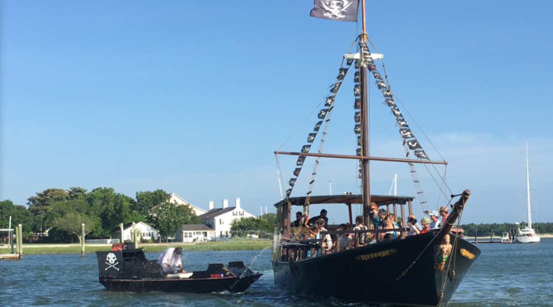 North Carolinians Can Sail On A Pirate Ship Through Waters Once Used By Real Pirates This Summer