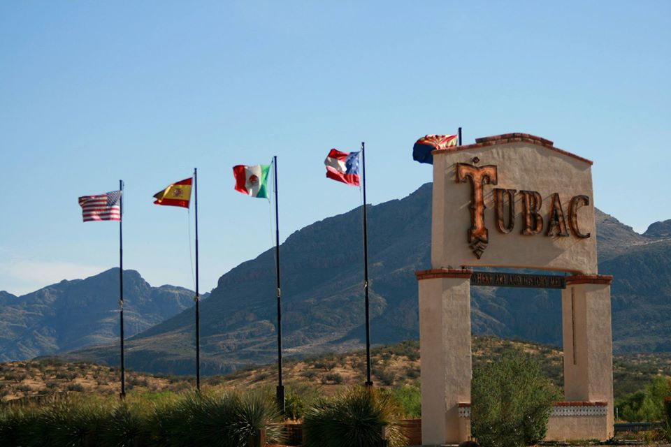 Tubac Is A Quaint Small Town In Arizona Nestled Between Two Mountain Ranges
