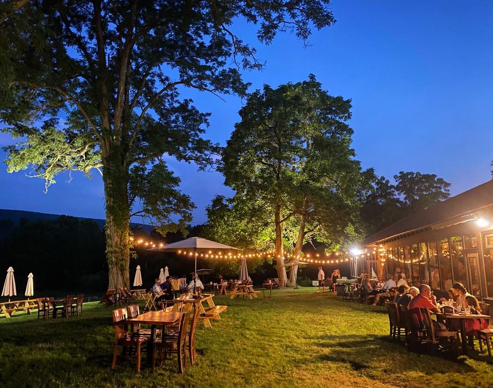 Dine Outdoors At The Walpack Inn And Enjoy Some Of The Most Beautiful Views In New Jersey