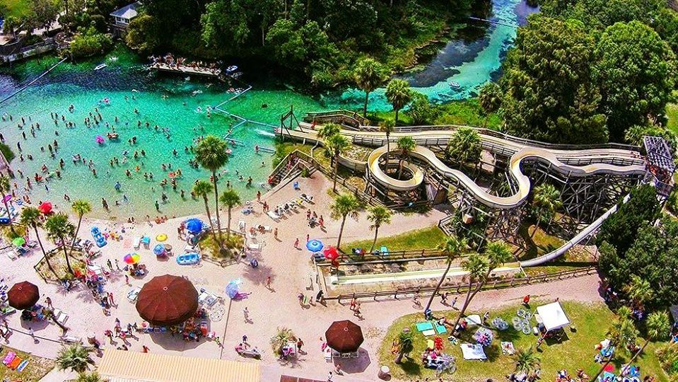 The Natural Waterpark In Florida That's The Perfect Place To Spend A Summer Day