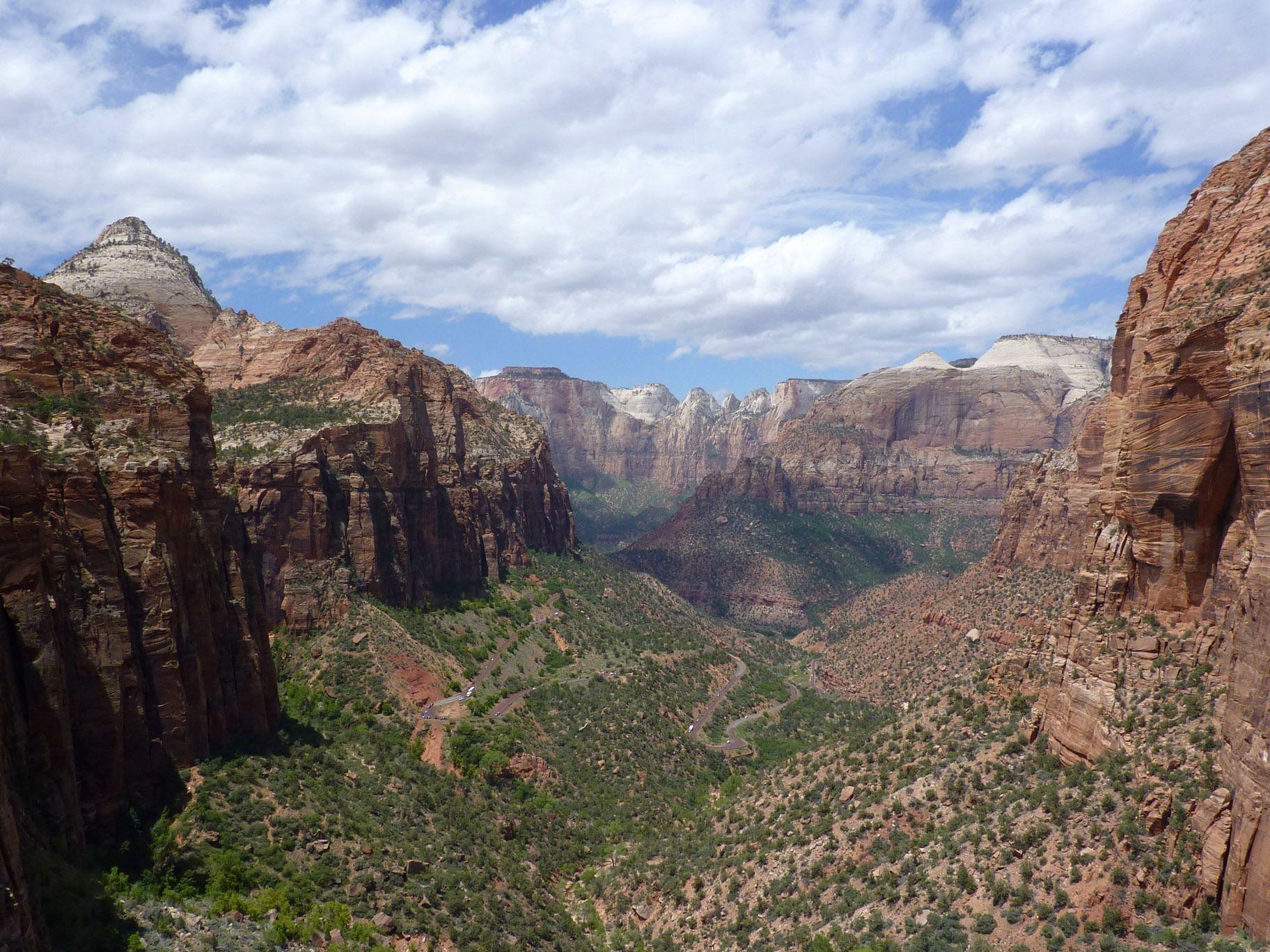 Just About Anyone Can Reach The Zion Canyon Overlook In Utah