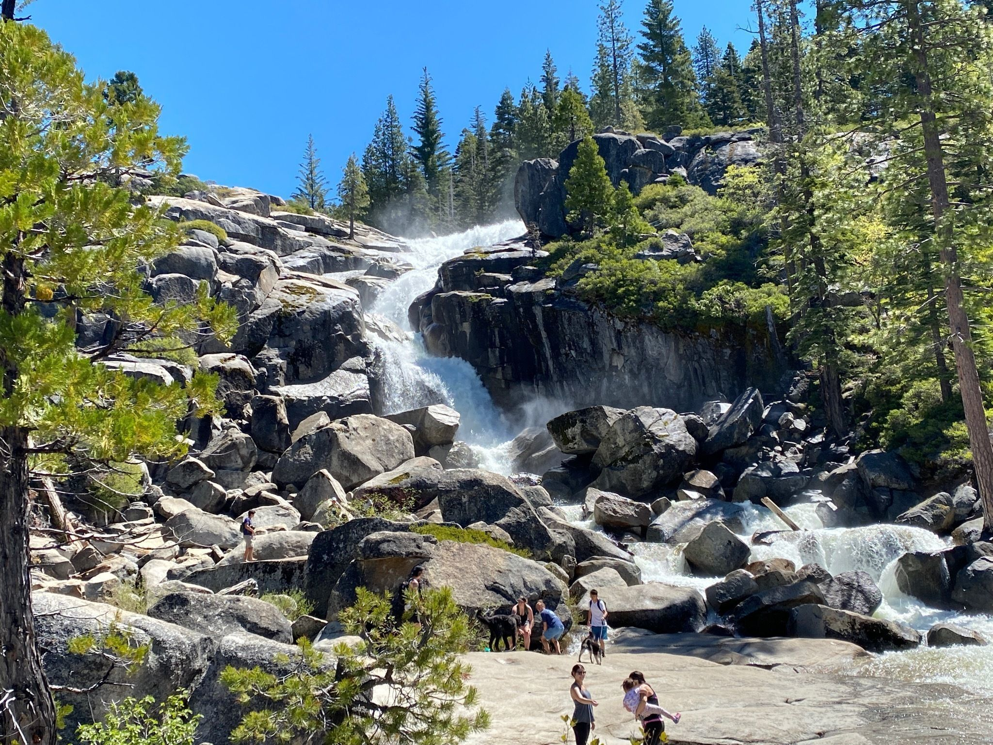 Bassi Falls Trail Is A Beginner-Friendly Waterfall Trail In Northern California That's Great For A Family Hike