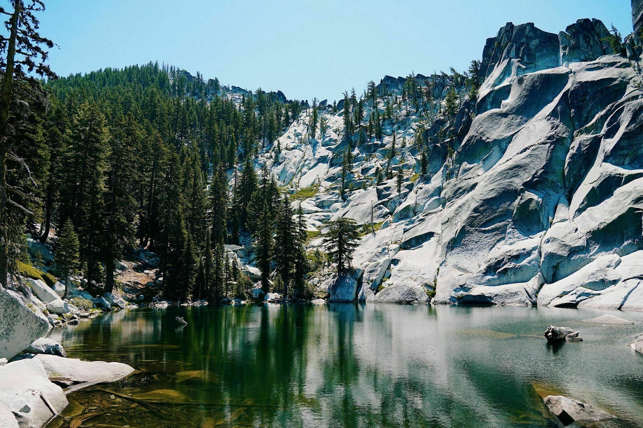 Surrounded By Otherworldly Rock Formations, Statue Lake Is A Rare Wonder In Northern California