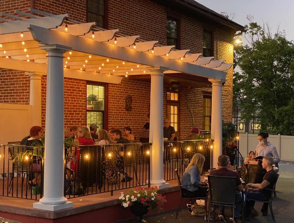 Dine On The Patio At Tatiana's Restaurant, An Unassuming Eatery In Pennsylvania