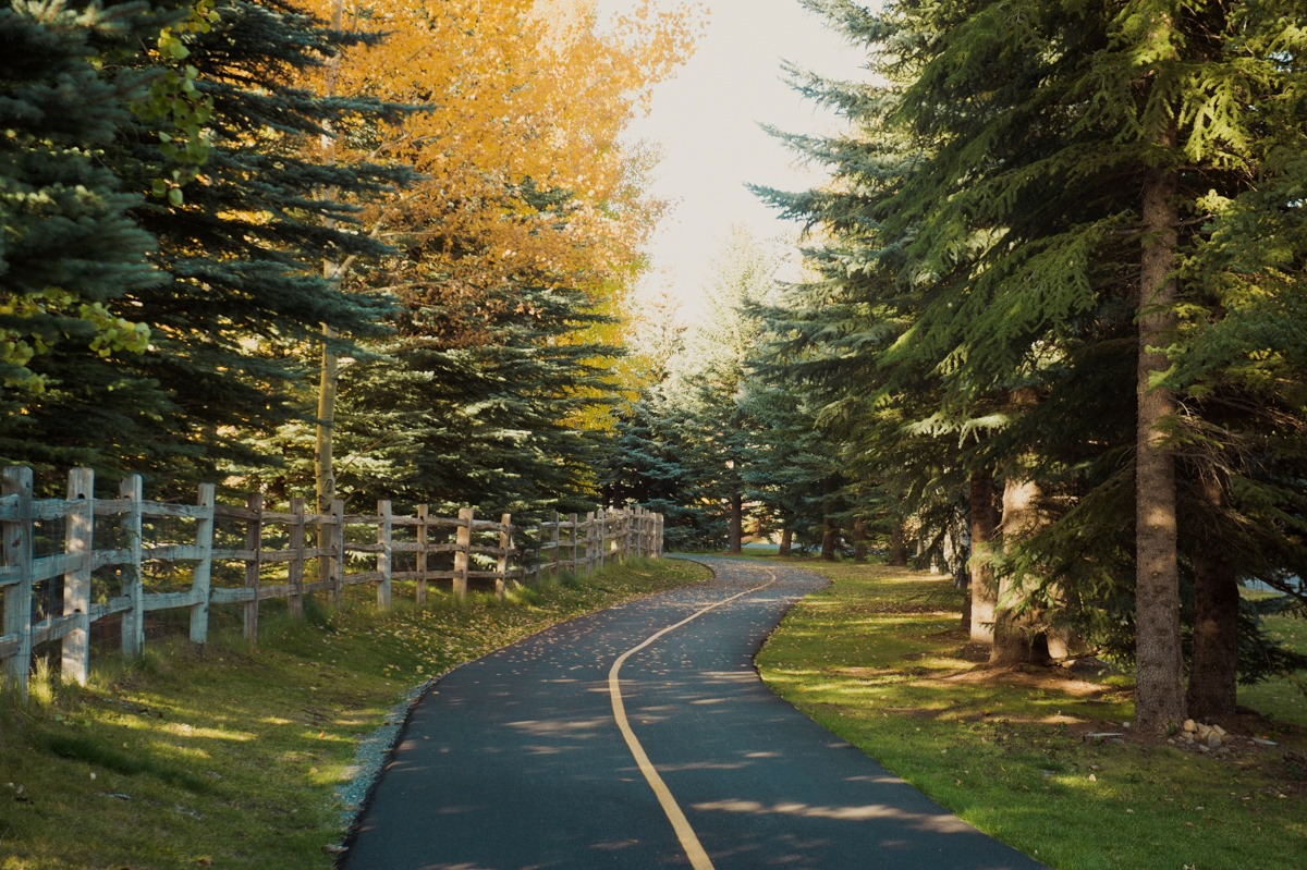 The Wood River Trail Is A 20-Mile Path In Idaho That Winds Alongside Rivers, Meadows, And Mountain Towns