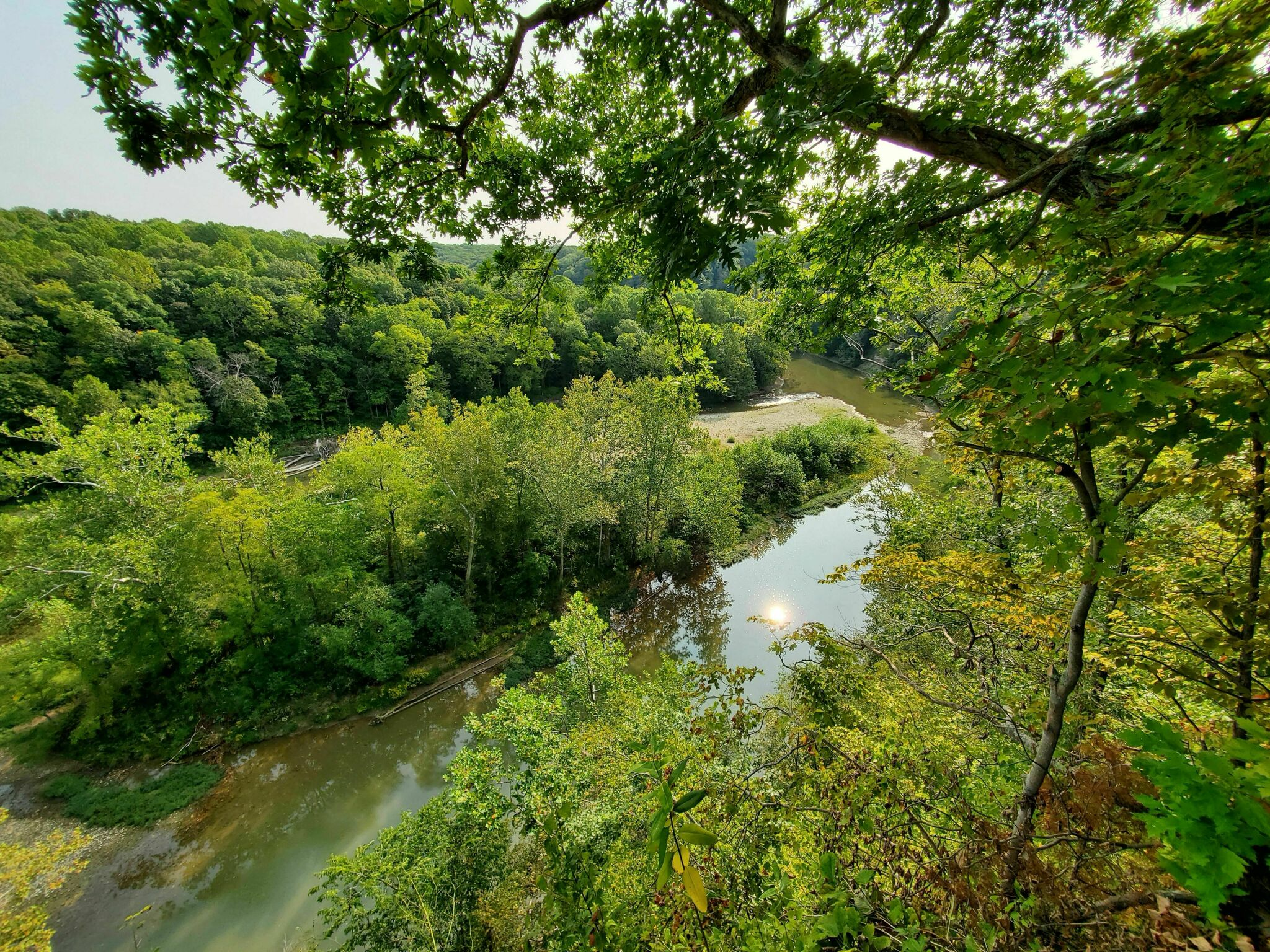 Shades State Park Trail #2 Is A Challenging Hike In Indiana That Will Make Your Stomach Drop