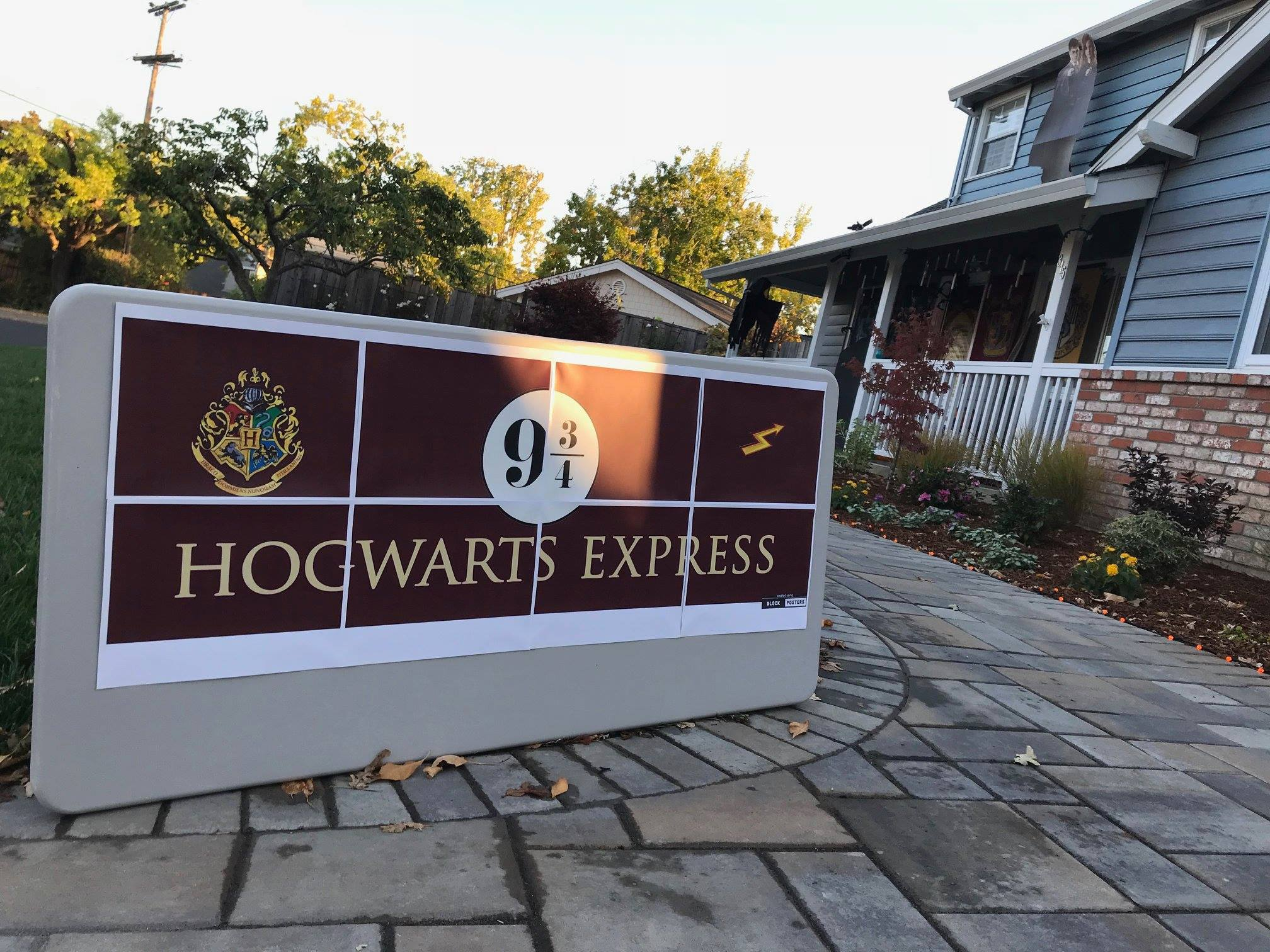 Stop By The Harry Potter Halloween House In Northern California For A Magical Outing