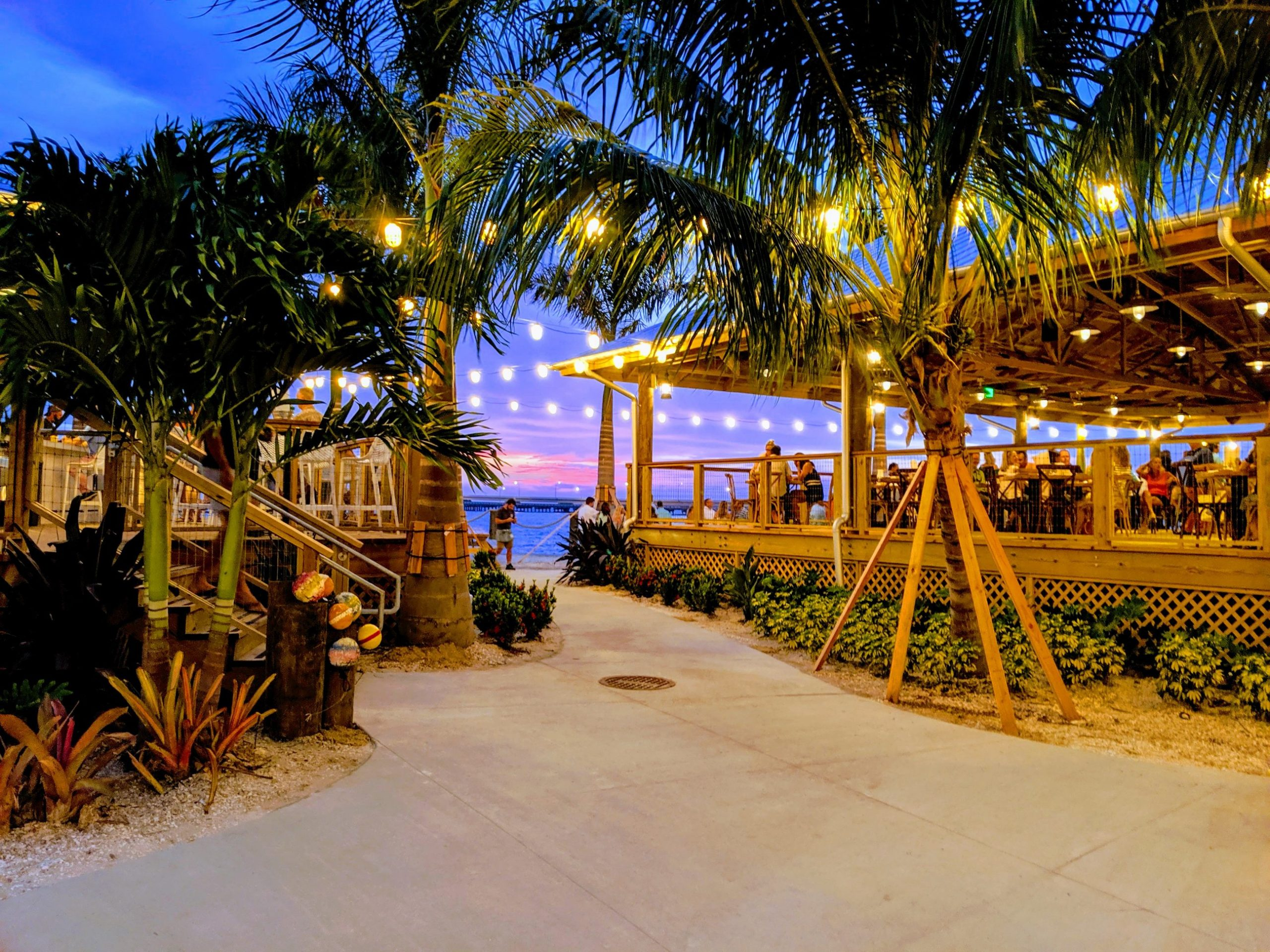 The Salt Shack In Tampa, Florida Offers Open-Air Dining On The Bay