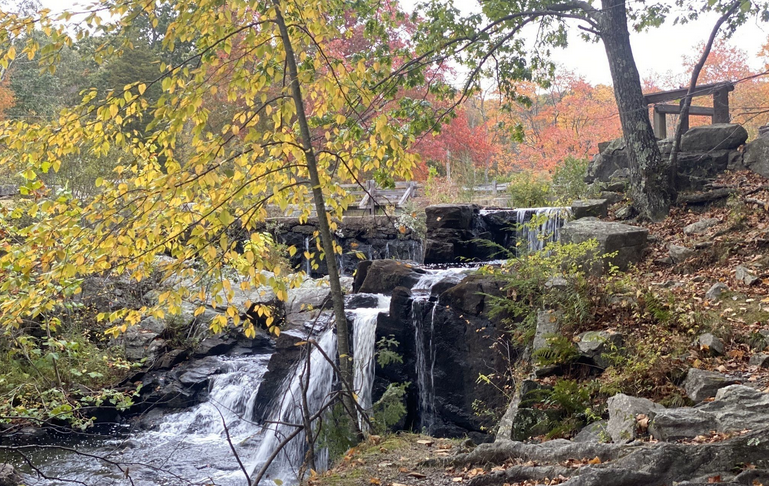 Southford Falls In Connecticut Will Soon Be Surrounded By Beautiful Fall Colors