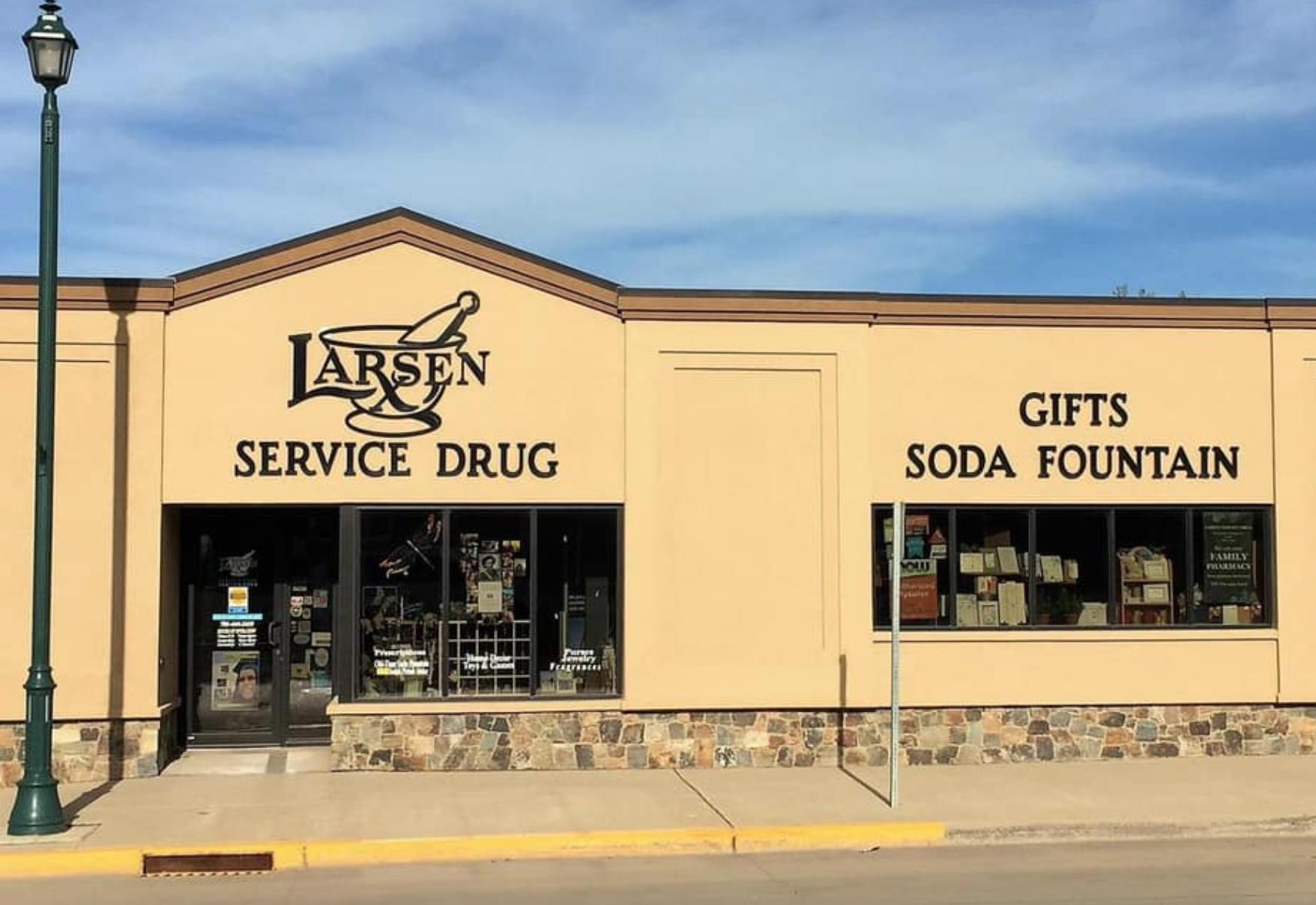 Larsen Service Drug Soda Fountain Has The Best Nostalgia-Filled Ice Cream In North Dakota