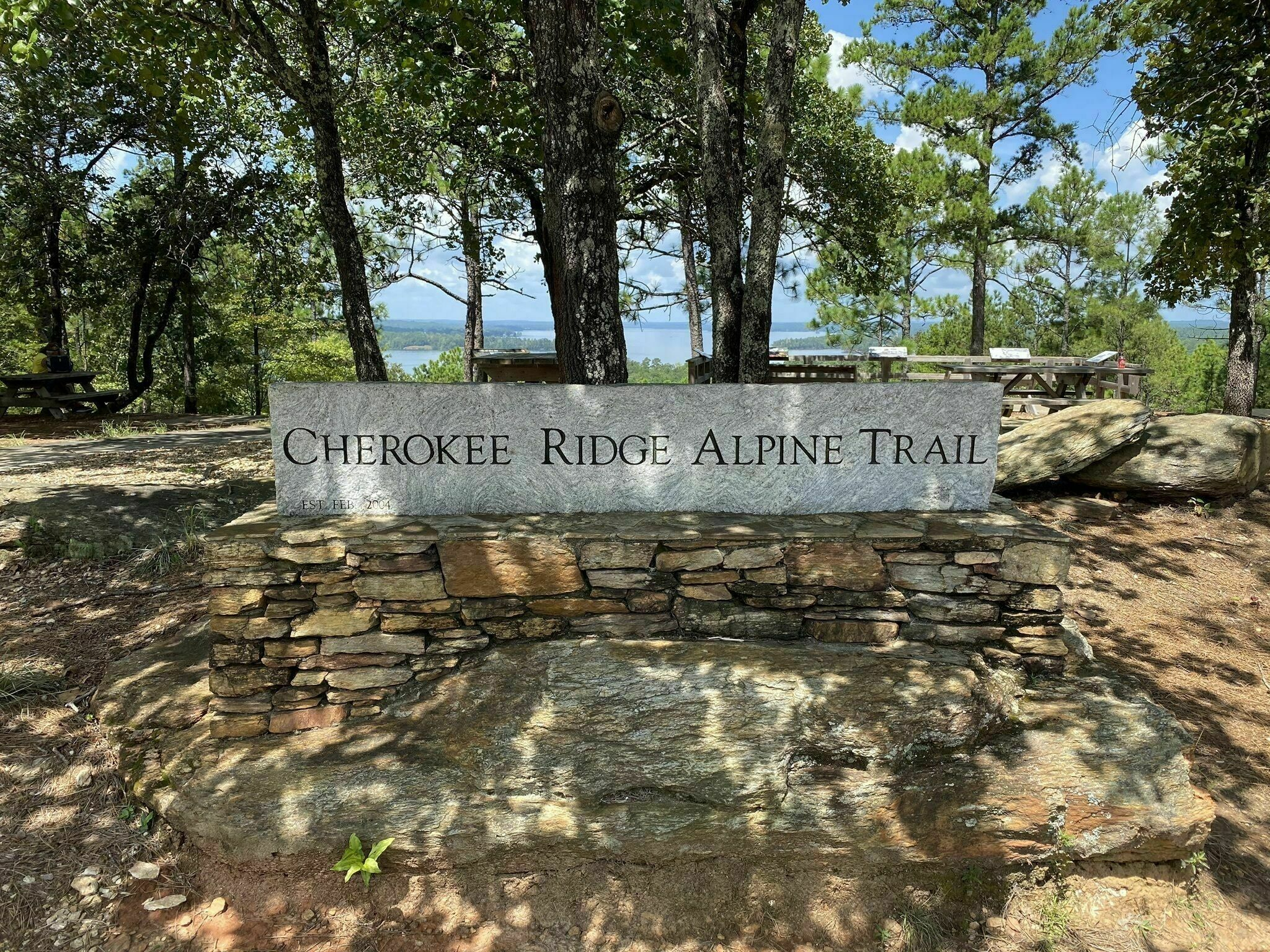 With Incredible Lake Views, The Cherokee Ridge Alpine Trail Is Known As The Most Spectacular Trail In Alabama