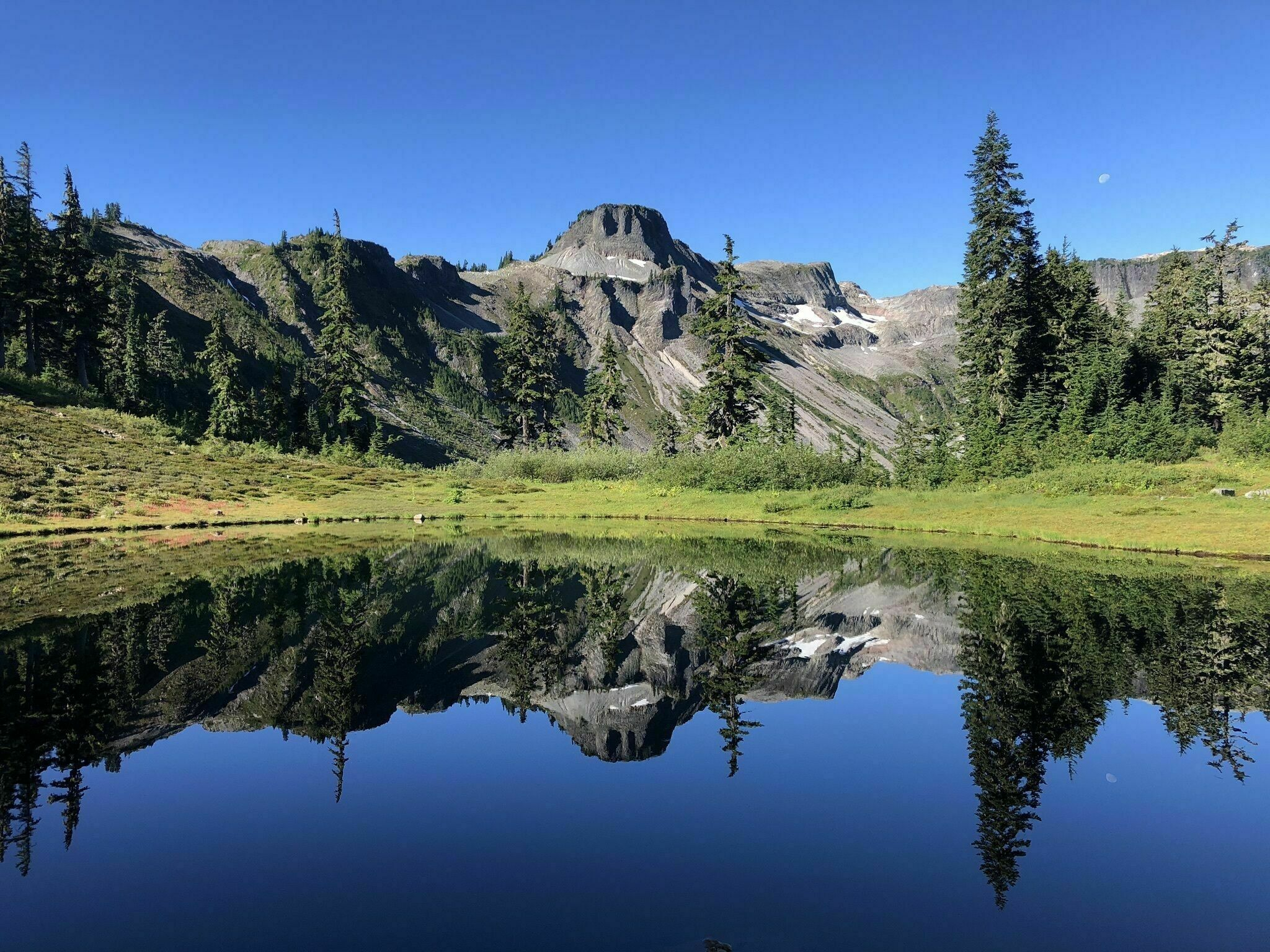 Featuring A Lake And Views Of Mt Baker, The Chain Lake Loop Trail Is One Of Washington's Most Rewarding Hikes