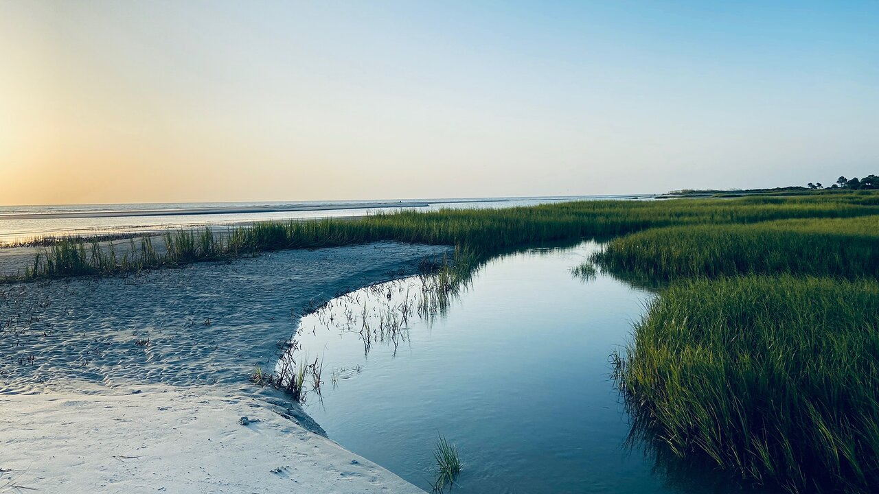 Off The Beaten Path In Hilton Head Island, You'll Find A Breathtaking South Carolina Overlook That Lets You See For Miles