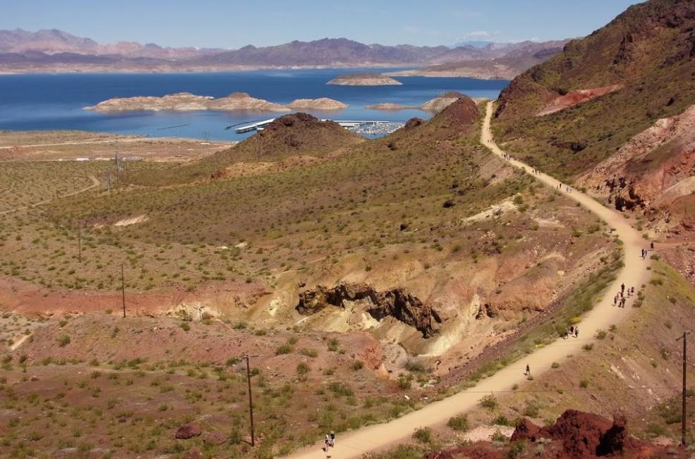 Follow An Old Railroad To A Deep Blue Lake On This Enchanting Arizona Trail