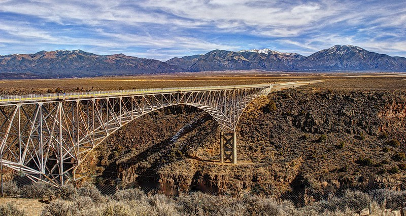 One Of The Highest Bridges In The Whole Country Is Right Here In New Mexico