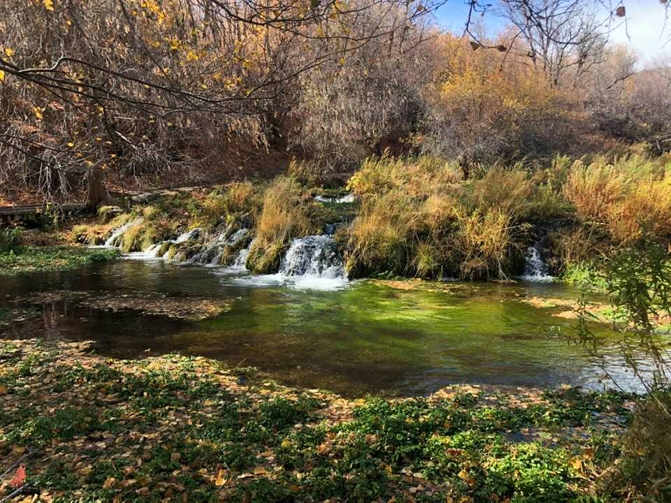 The Boardwalk Hike At Cascade Springs In Utah Winds Through An Oasis Of Little Waterfalls And Bridges