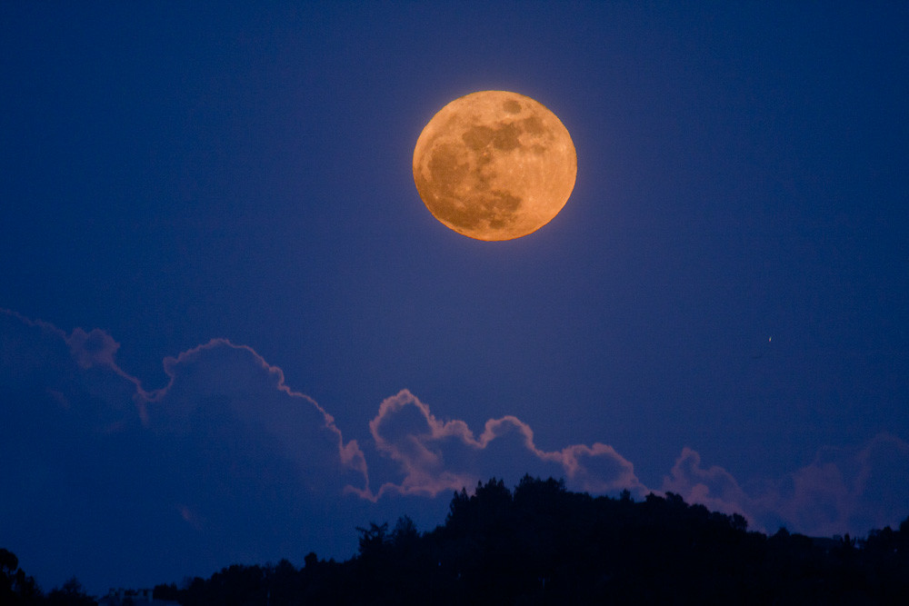 In True Halloween Fashion, Florida Is Getting Another Full Moon This October