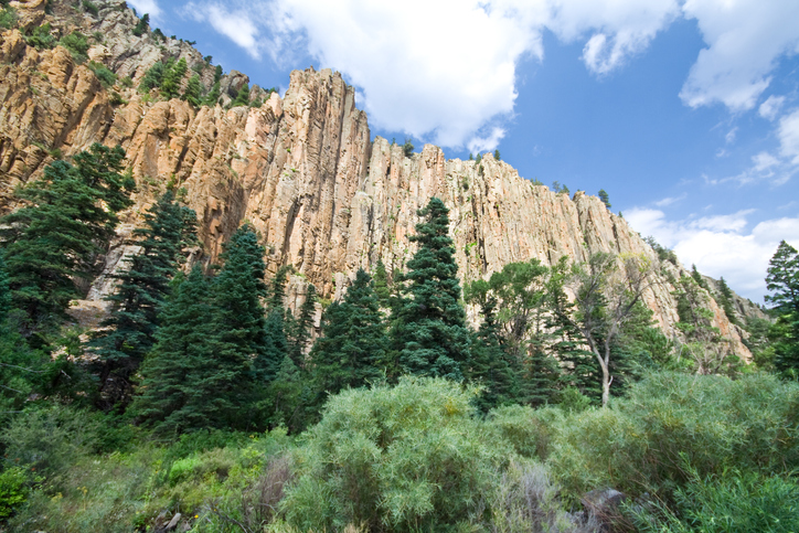 Cimarron Canyon State Park In New Mexico Is So Well Hidden, It Feels Like One of the State's Best Kept Secrets