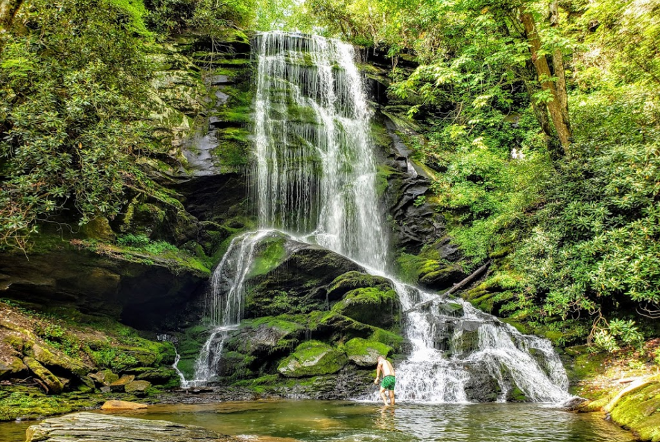 The Easy Hike To Catawba Falls In North Carolina Is Ideal For All Skill Levels