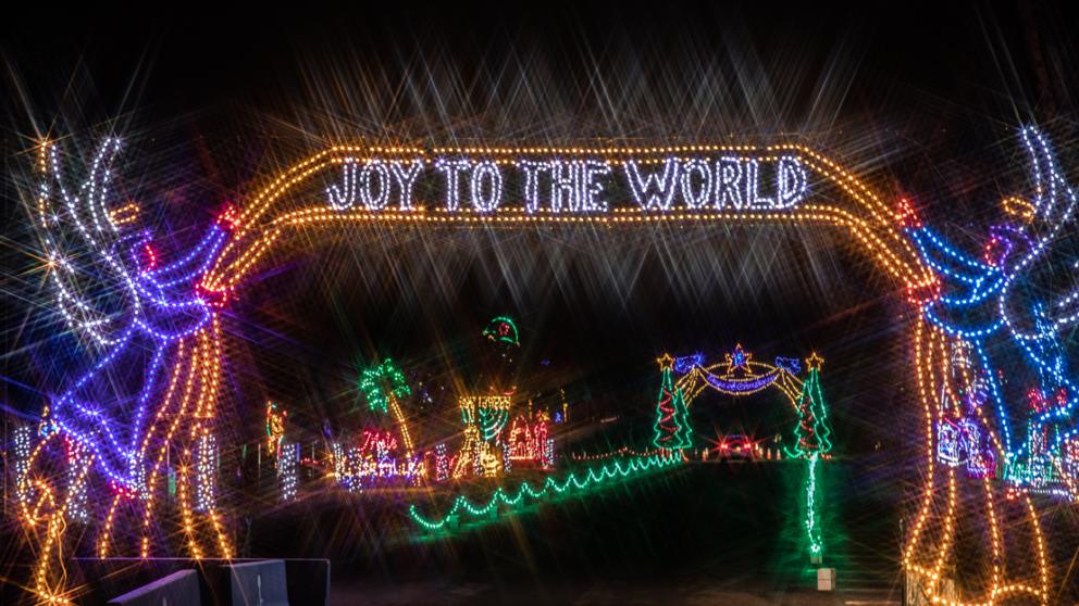 Over 1 Million Lights Will Illuminate Daytona Speedway This Holiday Season In Florida