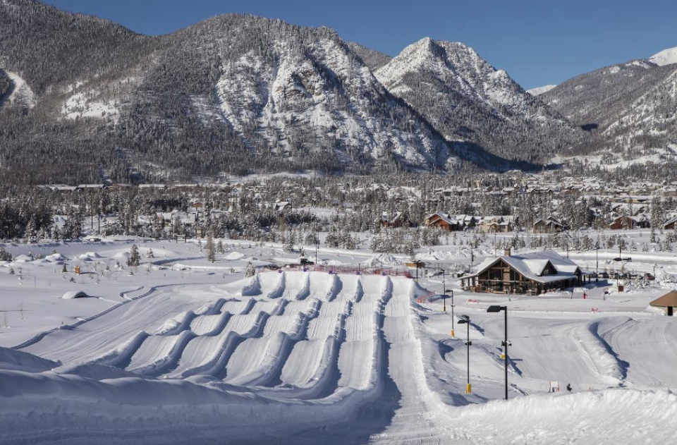 Tackle A 1,200-Foot-Long Snow Tubing Hill At The Frisco Tubing Hill In Colorado This Year