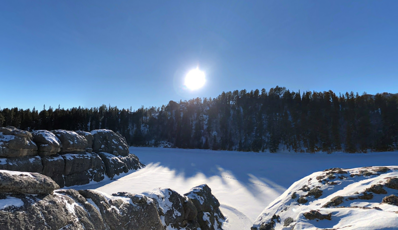 Here's Why You Will Want To Visit Sylvan Lake In South Dakota During The Winter Months