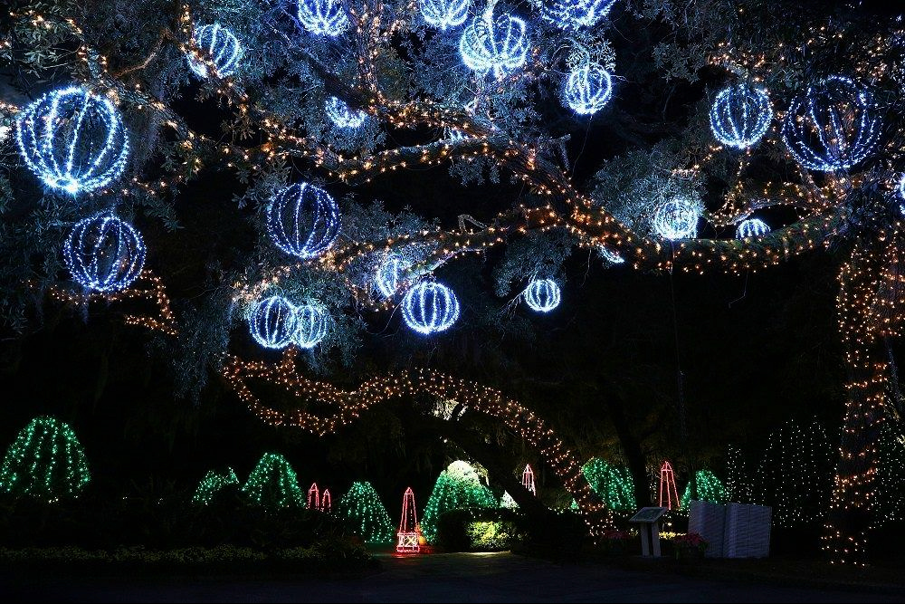 Take A Stroll Through 3 Million Dazzling Lights At Alabama's Bellingrath Gardens And Home's Magic Christmas In Lights
