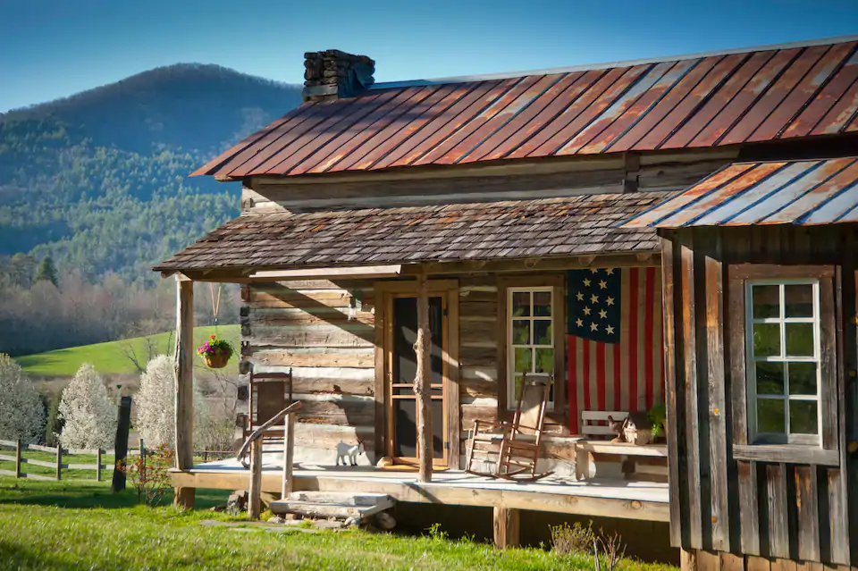 The Views From This Rustic Log Cabin In Georgia Are The Definition Of Stunning