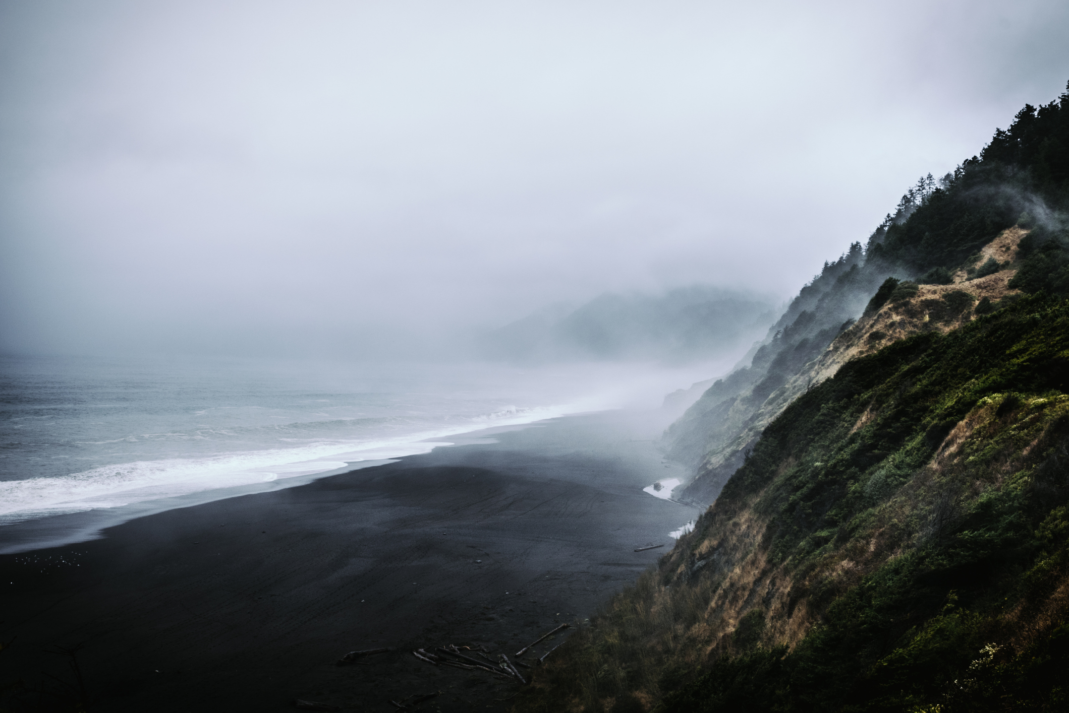 Black Sands Beach Is A Unique And Beautiful Destination On The Northern California Coast